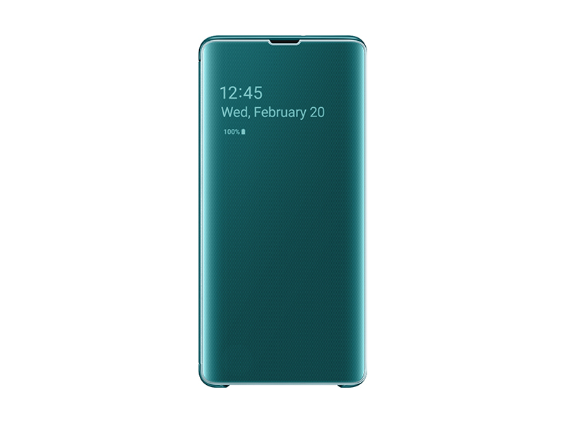 Чехол-книжка Samsung Galaxy S10e (SM-G970) Clear View Зеленый