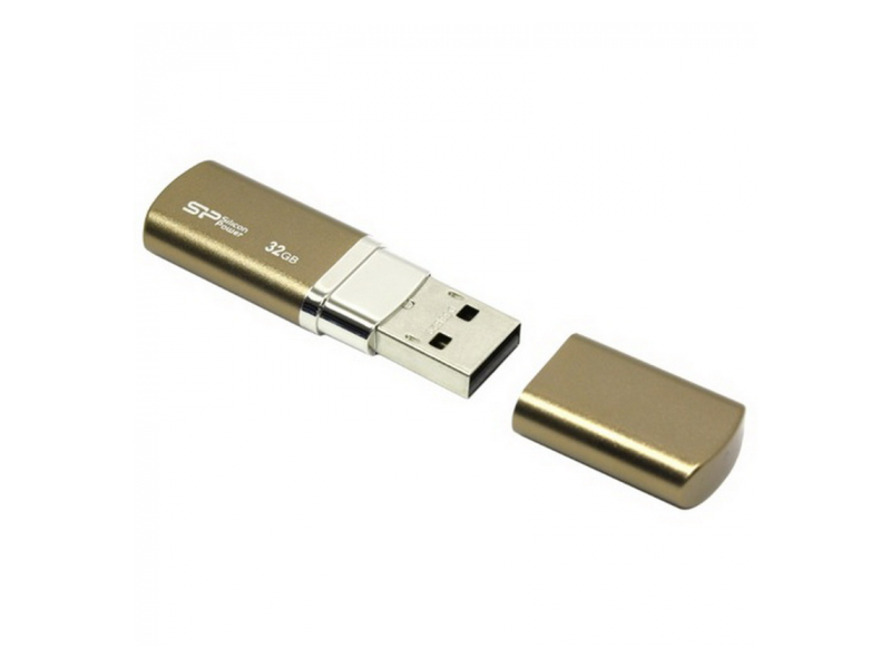 USB Silicon Power LuxMini 720 32Gb бронзовый