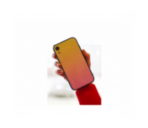 Клип-кейс iPhone XR Glass Желтый