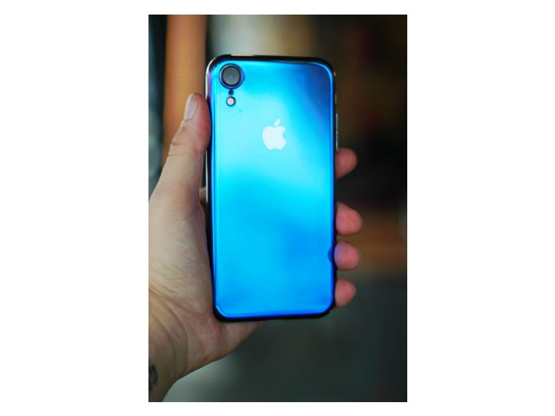 Клип-кейс iPhone XR Hard case Синий