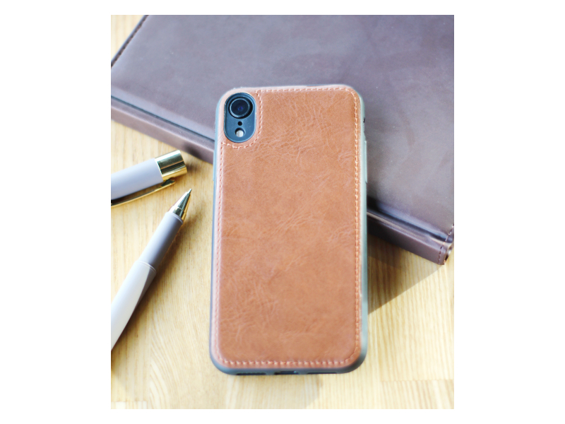 Клип-кейс Samsung Galaxy J4 Plus (SM-J415) Leather bag Коричневый