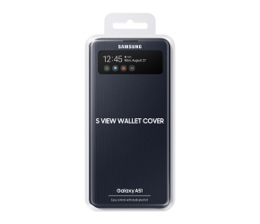 Чехол-книжка Samsung Galaxy A51 (SM-A515) Wallet Cover Черный