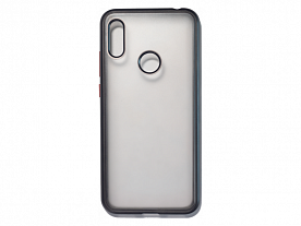 Клип-кейс Honor 8A/Huawei Y6 2019 Matt Hard case Черный