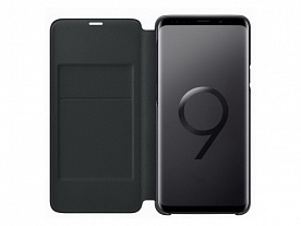 Чехол-книжка для Samsung Galaxy S9 Plus (SM-G965) LED-View Cover Черный